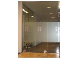 Linear 153 - Frameless Glass Sliding Door System