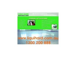 Liqui-hard concrete densifier and hardener