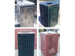 Litter Bins and Entry Lids from Polite Enterprises