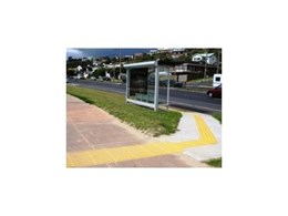 Local council upgrade Frankston bus stops with CTA Australia PolyPad tactile warning indicators