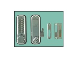 Lockey 2500 digital sliding door locks available from Locks Galore