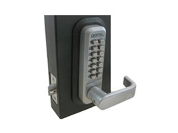 Lockey 2835 keyless mechanical digital door locks available from Locks Galore