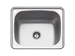 Lodden stainless steel sinks from Abey at the Sink and Bathroom Shop
