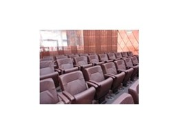 Low back tilt seat chairs from Effuzi International installed in Wellington's new Supreme Court