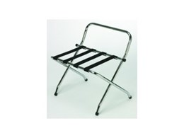 Luggage racks from Weatherdon Hotel Supplies