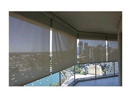 Luxaflex sunscreen straight drop awnings from Sunteca