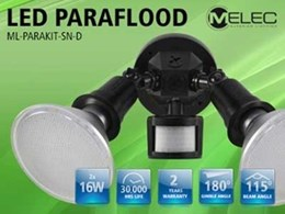 M-Elec's new LED para flood lamps for easy installation and long life