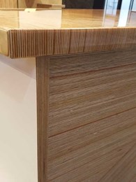 Birch plywood's strength and versatility trending in contemporary design