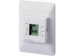 MICROTEMP range electronic thermostats from Comfort Heat Australia