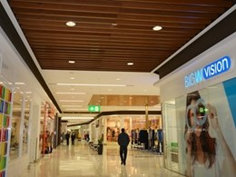 Majura Park Shopping Centre gets the Supawood finishing touch