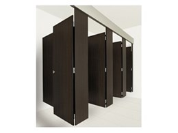 Make a statement with Horizon suspended toilet partitioning systems available from Waterloo Systems