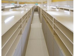 Map Storage for the National Archives of Australia by Boscotek