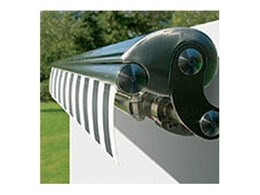 Markilux ES-X balcony and patio awnings available from Awnings, Blinds and Shutters by Sunteca