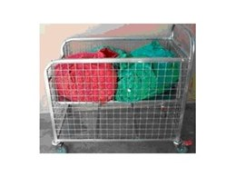 Masco Model CT- ST1000 Cage Trolleys from Laundry Systems Group
