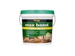 Max Bond Fast Grip adhesive in 10litre pail from HB Fuller