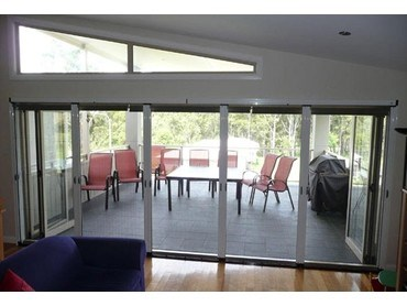 Maxi pleated flyscreens from freedom retractable screens Screens for outdoor areas