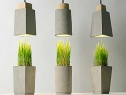 Meizai introduces the 304 collection of lamps and planters by Bentu