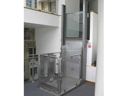 Melody 2 wheelchair lifts from P.R. King & Sons