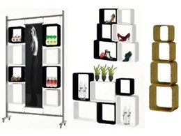 Merchandising accessories from Display Design