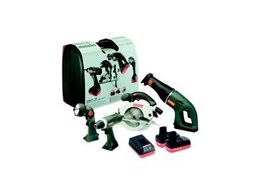 Metabo Lithium Ion tools