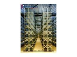 Metalsistem shelving from Commando Storage Systems