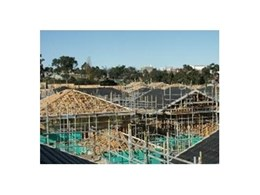 MiTek PosiStruts and roof trusses utilised at 2006 Commonwealth Games Village