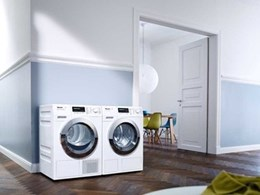 Miele's new washing machine and tumble dryer collection adds a fresh dimension to laundry care