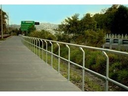 Moddex supplies bikeway barriers to cycle way project