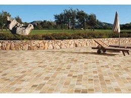 Model Pave innovative porcelain tiles available from Rocks On