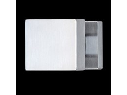 Modern Diana door handles from Bellevue Imports