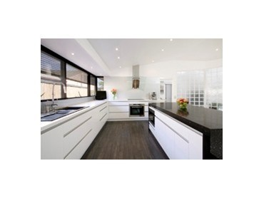 modern kitchen design featuring blum hardware and