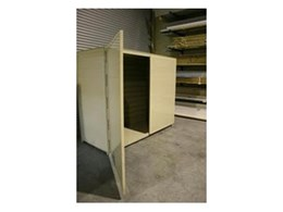 Modular storage cabinets available from Apartment Storage Solutions
