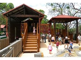 Moduplay redesigns and refurbishes children's play area at Taronga Zoo, Sydney