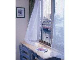 Monarch Almarde pleated retractable insect screens from National screens