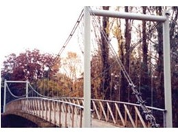 Moodie Outdoor Products offers Cablespan suspension bridges