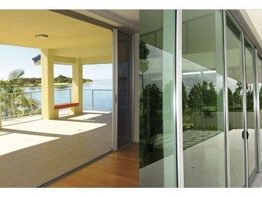 Multi track 200 sliding doors from wintec systems for Exterior multi track sliding doors