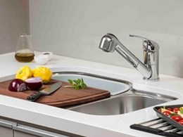Multifunctional kitchen sink comes with style and accessories