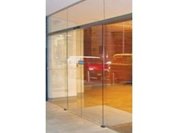 NGU Ultraslim automatic sliding door operator from ADIS Automatic Doors
