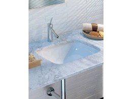 Nettuno under counter basin from Parisi Bathware