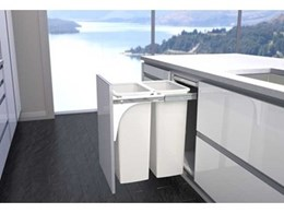New 40L Hideaway Bins by Kitchen King to be displayed at HIA Sydney Home Show