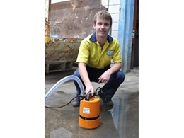 New Aussie Puddle Sucker submersible residue dewatering pumps