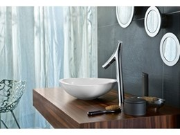 New Axor Starck Organic basin mixers and shower mixers available from Just Bathroomware