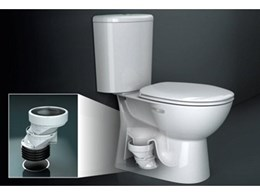 New Cameo toilet suite from Caroma with unique connector makes retrofitting simple