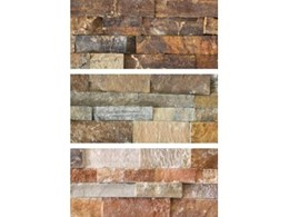New Chunky range of stacked stone products from DecoR Stone