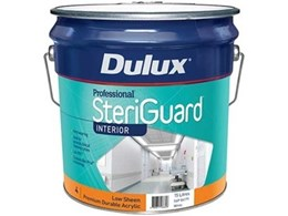 New Dulux acrylic paint withstands cleaning regimes in healthcare environments