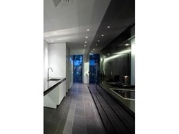 New Eleganz high gloss solid Perspex doors used in architect-designed house