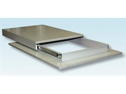 New EziSlider access hatchway system from Skyspan Skylights