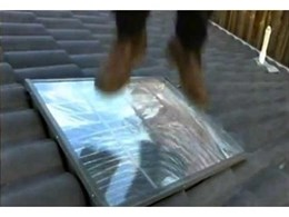 New Heavenly Skylights video demonstrates hail resistant skylights