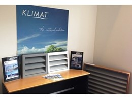 New Klimat fixed ventilation louvres and glass louvres showroom now open