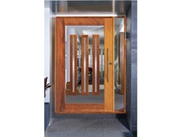 New Lumina pivot door entrances from Corinthian Doors